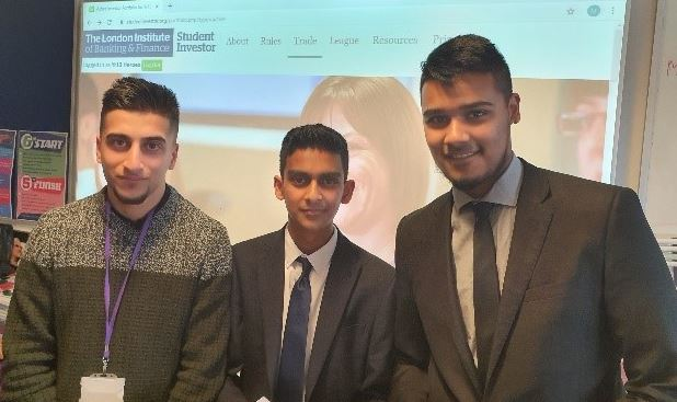 Students Reach Semi-finals in The Student Investor Challenge